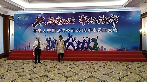中英人寿黑龙江公司2018年